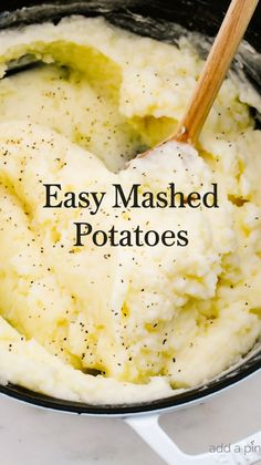 Ultimate Mashed Potatoes Recipe, Make Ahead Mashed Potatoes, Perfect Mashed Potatoes, Buttery Mashed Potatoes Recipe, Fluffy Mashed Potatoes, Easy Potato Recipes, Mashed Potato Recipes, Soup Recipes, Cooking Recipes