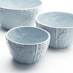 I am totally obsessed with Beehive Kitchenware- and now they are on Fab! Laurel Mixing Bowls Set Of 3 now featured on Fab.