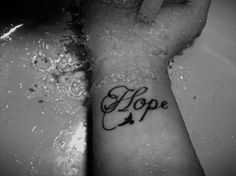 Hope tattoo would want it on my hip