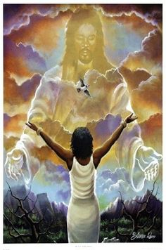 Beautiful Black Religious Art prints and posters of African American religious spiritual art by some of our most popular and upcoming artist. African American Art, African Art, Black Art Pictures, Black Jesus Pictures, Bible Pictures, Prophetic Art, Black Love Art, Jesus Art, Black Artwork