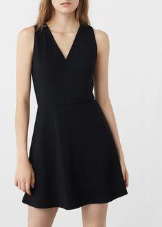Šaty s kolovou sukní | MANGO
