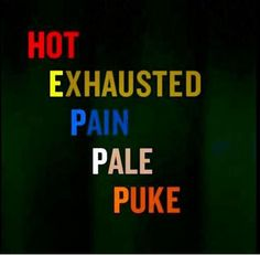 HEPPP - Hot Exhausted Pain Pale Puke, the signs of a heart attack in women