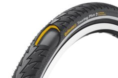 Continental Touring Plus Tire 700 x 37 Reflex Black - Brand Name Cycling Tires