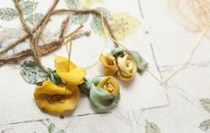 An beautiful site for ribbon and stitching tutorial