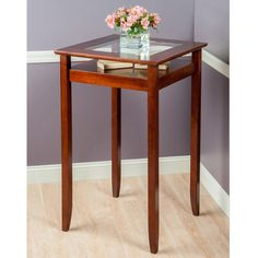 Winsome Halo Bar Height Pub Table - 94127