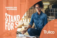 Trulioo is proud to be part of 'Stand for Small,' a coalition of more than 40 companies supporting millions of U. Financial Inclusion, Small Company, Small Businesses, Ted, Management, Goals, Marketing, American, Digital