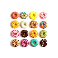 Donuts Art Print (€12) ❤ liked on Polyvore featuring home, home decor, wall art and other