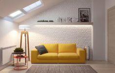 alteregodiego:  Yellow + brick - road#interiors www.diegoenriquefinol.com