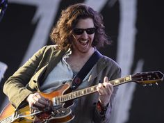 Hozier rockin' out at Coachella :)