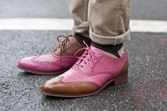 Pink colour is on for menswear.