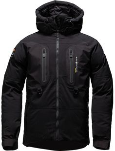 Sail Racing LTD Down Parka Carbon Black winter jacket for men