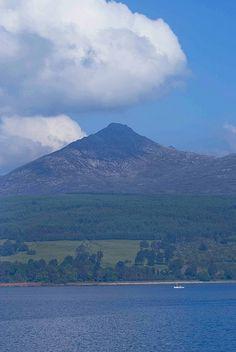 Goatfell, Ayrshire ~ Isle of Arran's highest peak 2,866ft.
