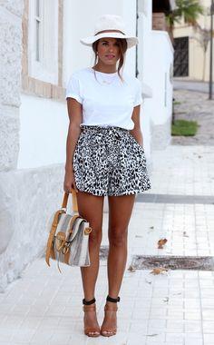 EstiloDF » ¡Los 5 shorts con estampado que debes tener!