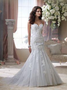 Style No. 114293 » David Tutera for Mon Cheri»wedding dresses 2014 and bridal gowns 2014