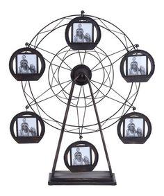 Another great find on #zulily! Ferris Wheel Photo Frame #zulilyfinds