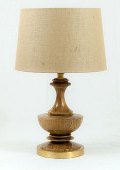 Custom Made Hand Made, Lathe Turned Electric Wooden Lamp, Spalted Ambrosia Maple