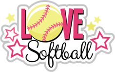 Love Softball SVG scrapbook title softball svg file svg files for scrapbooking free svgs svg cuts