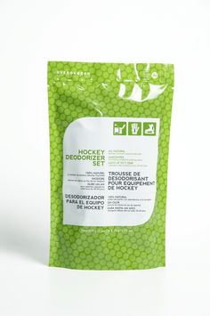 Hockey Deodorizer Set (4-Pack, 50 g x 4) - Natural Bamboo Charcoal Moisture Absorber,  Unscented: eliminates odours instead of masking them (place one packet in each skate, glove, or other equipment). Lasts up to 1 Year: reactivate under sunlight every 30-60 days. How do you use our Hockey Deodorizer Set? Please let us know in comment.
