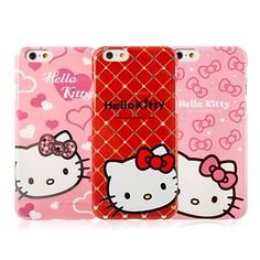 Are you a Hello Kitty girl? Then you'll love these adorable Hello Kitty phone cases. Check them out for more girly cute styles!