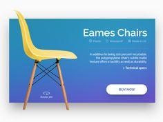 UI Chair by Stratos Iordanidis
