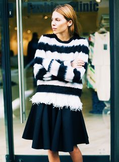 10 Date-Night Outfits That Are Perfect for Fall via @WhoWhatWear