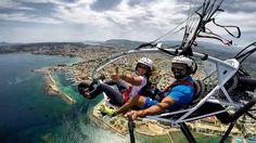Paratriking in Chania Crete