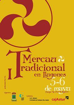 Cartel Mercau Tradicional by alberto vega diseño gráfico & web, via Flickr