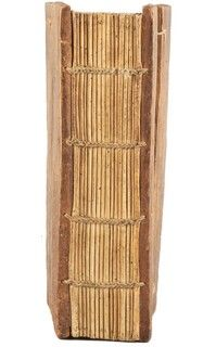 Ethiopian, 19th century AD or before, unsupported chain stitching often referred to as coptic binding