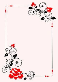 Floral 1 poster background template, How to print a Floral 1 poster background. Frame Border Design, Boarder Designs, Page Borders Design, Glass Etching Designs, Glass Painting Designs, Borders For Paper, Borders And Frames, Nature Iphone Wallpaper, Flower Background Wallpaper
