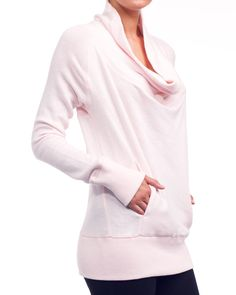 cowl neck sweatshirt....looks so comfy :)