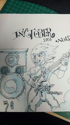 Inktober Day 2 Noisy