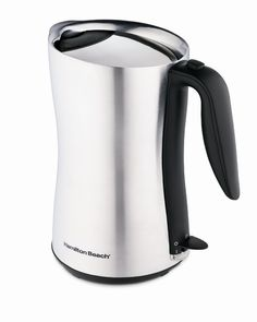 Amazon.com: Hamilton Beach 40898 Cool-Touch 8-Cup Cordless Electric Kettle: Home & Kitchen