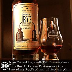 This is a good rye that I enjoy neat, with a splash of water, on the rocks and in cocktails it's just ridiculous. The amount of spice in here is wonderful, I just wish I had a bit more of a wood influence. There are already so many things to like about this whiskey that a little more maturity to bring out a bit more of the sweetness and add some nice woody notes could catapult this to the next level.