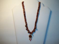 Autumn Fire Necklace  by Chubbychick by chubbychick on Etsy, $20.00