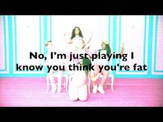 Meghan Trainor - All About That Bass - Music Lyrics Video. Could not agree more with the lyrics in this song!
