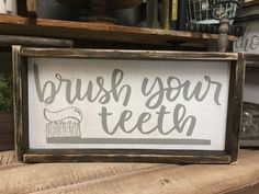 There are so many choices of printable bathroom signs that you can make as decoration in the bathroom. Here I have collected 21 of the most popular printable bathroom signs that you can make as inspiration Painted Wood Signs, Wooden Signs, Hand Painted, Primitive Bathrooms, Country Bathrooms, Bathroom Signs, Bathroom Ideas, Bathroom Updates, Bathroom Hacks