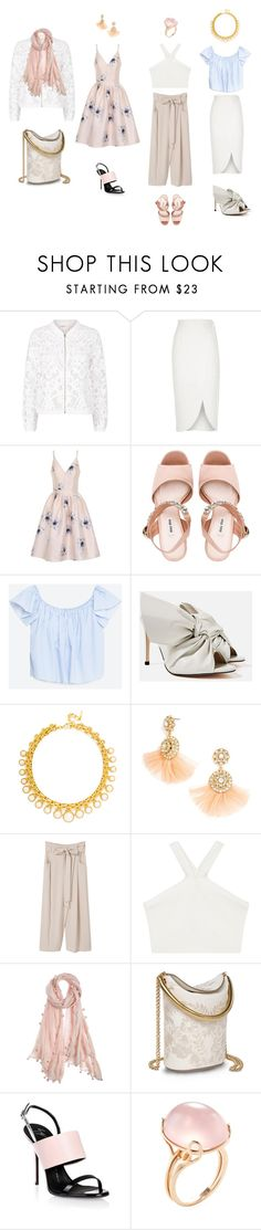 """WHIMSICAL"" by dacostastylingstudios on Polyvore featuring Maje, River Island, Chi Chi, Miu Miu, Piel Leather, BaubleBar, MANGO, BCBGMAXAZRIA, Chan Luu and STELLA McCARTNEY"