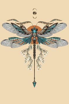 Tattoos And Body Art dragonfly tattoo designs Tatoo Art, Mandala Tattoo, Painting Tattoo, Snake Tattoo, Dragonfly Tattoo Design, Dragonfly Art, Tattoo Designs, Dragonfly Drawing, Dragonfly Tattoo