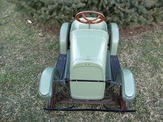 1920s Steelcraft Touring Roadster Pedal Car Spring Suspension Partially Restored | eBay