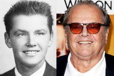 jack nicholson yearbook high school young 1954 photo red carpet He's sooooo good. Celebrities Then And Now, Young Celebrities, Celebs, Famous Men, Famous Faces, Famous People, Jack Nicholson, Stars Then And Now, Cinema