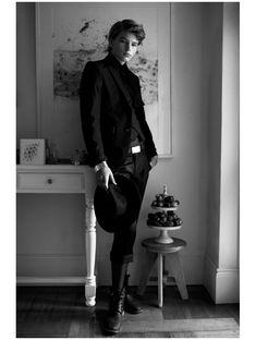 Jordan Barrett in Secrets & Lies by David K. Shields for Fashionisto Exclusive