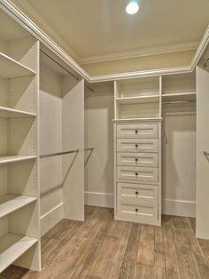 The new closet, no particle board