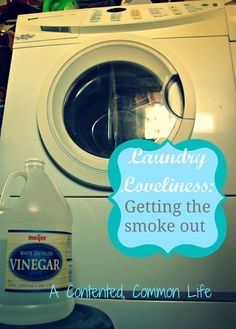 Get rid of campfire smoke smell! 1 cup baking soda in the detergent  compartment 1 cup vinegar in the fabric softener compartment