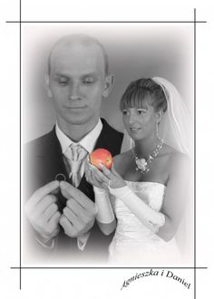 An Apple A Wedding Day - On second thought, he decided to keep the ring. (submitted by John)