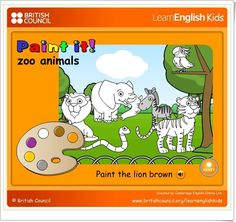 LearnEnglish Kids is brought to you by the British Council, the world's English teaching experts. We have lots of free online games, songs, stories and activities for children. Teaching English, Learn English, Games For Kids, Activities For Kids, Teaching Philosophy, Book Maker, English Activities, Narrative Writing, Animal Games