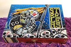 Custom Hand Painted Cigar Box Art – Steelers Art – Pittsburgh Steelers-Steelers Decor-Cigar Box–Smoking Decor-Stash Box-Cigar Boxes by TimothyDaviesArt on Etsy