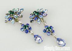Roger Jean Pierre for Dior Drop Earrings