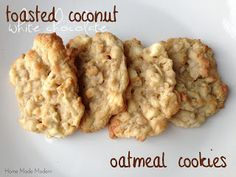 Oatmeal Cookies 1 c. butter, softened 1 c. sugar 1 c. brown sugar ...