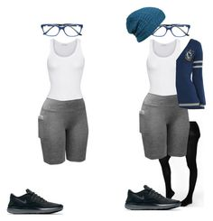 """Preppy Girl -  Sportwear"" by julianne-lalonde ❤ liked on Polyvore featuring We Love Colors, American Vintage, Warner Bros., NIKE, Bulgari and Agent Ninetynine"