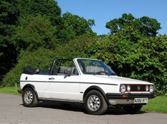 Mark 1 Golf GTI Cabriolet